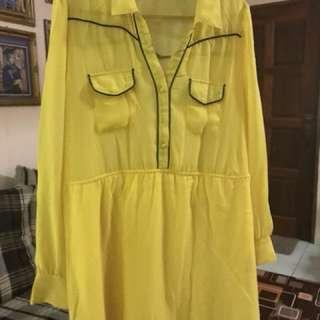 cotton on top dress