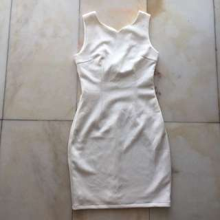 Doublewoot White Bow Dress