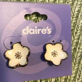Flower Ear Studs