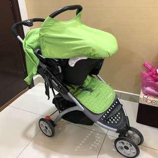 Mothercare Prams/stroller + Carrier