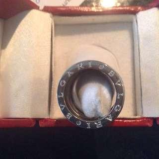BLVGARI Silver Ring Rep