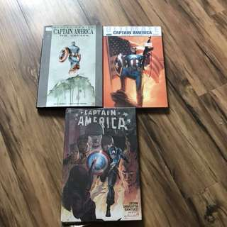 Captain America Hc bundle