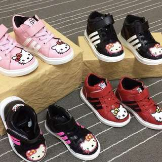 HI CUT SNEAKERS HELLO KITTY