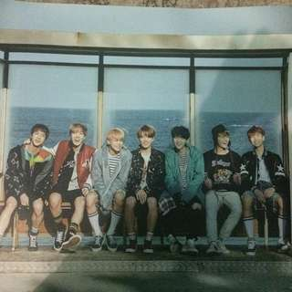 [Ready Stock] BTS YNWA Poster