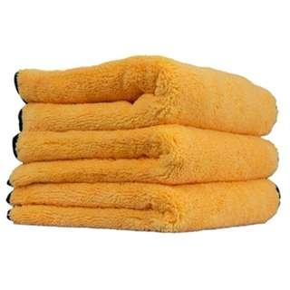 Chemical Guys Professional Grade Premium Microfiber Towels, Gold (16 in. x 24 in.) - 3 (Three) Pcs