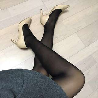 韓國最強超滑絲襪-店主實測!瘦腿/防曬/半透/防鈎/絲滑/防下滑/防腳趾公位穿窿全部集於一身!korean Black Pantyhose