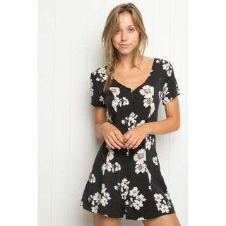 Brandy Melville Floral Jacky Dress