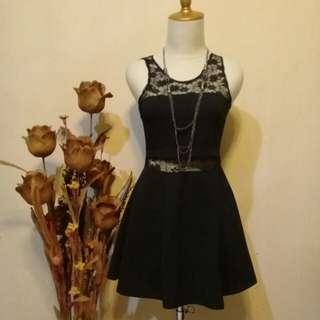 Dress black simple 😍