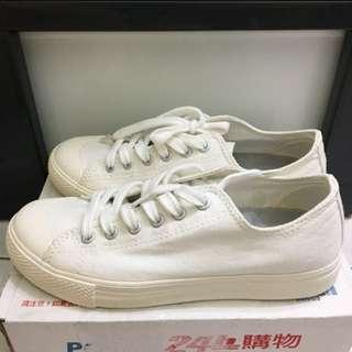 無印良品白鞋