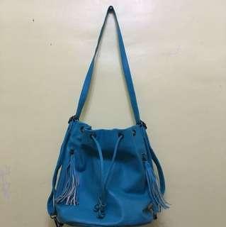 Blue Parisian Bag