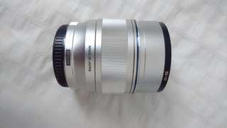 Olympus M.Zuiko M4/3 Digital ED 75mm F1.8 Silver