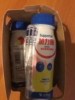 加力康 癌症 營養補充品3支 fresubin營養果汁橙味4支