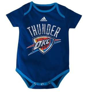 Authentic Adidas Onesies (OKC Thunder | Full Logo)