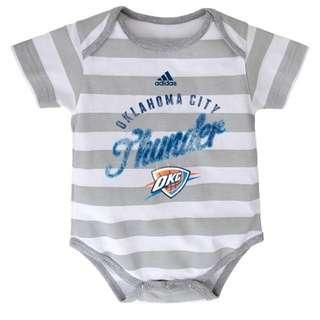 Authentic Adidas Onesies (OKC Thunder   Stripes)