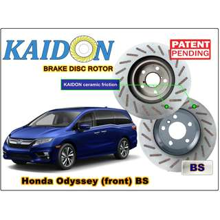 "Honda Odyssey disc rotor KAIDON(Front) type ""BS"" / ""RS"" spec"
