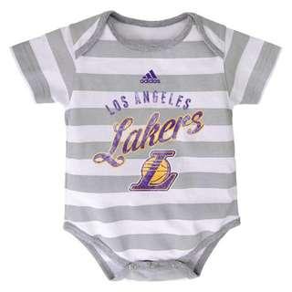 Authentic Adidas Onesies (LA Lakers | Stripes)