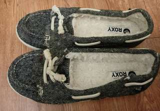 Roxy 全新 毛毛保暖鞋