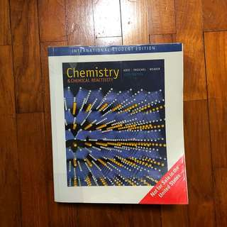 Chemistry and Chemical Reactivity / 6th Edition