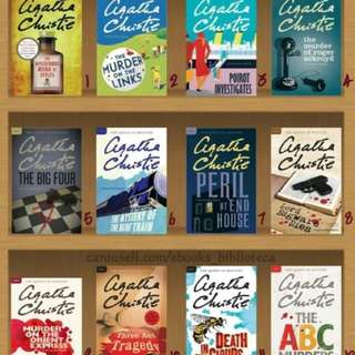 38 Agatha Christie Ebooks (Hercule Poirot series)