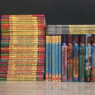 Geronimo Stilton books and graphic novels