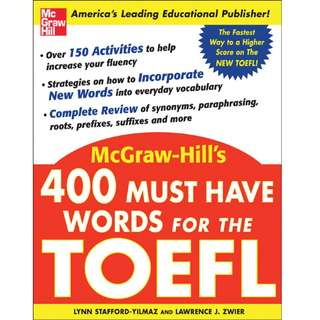 *Free* 400 Must Have Words for the TOEFL