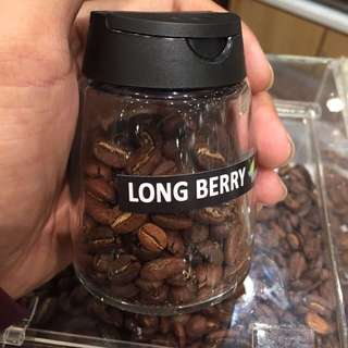 Biji kopi long berry