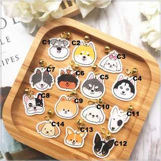 Customise Cute Acrylic Pet ID Tag