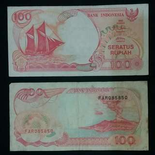 1992 Seratus Rupiah