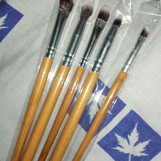 Bamboo Brush Set (Make Up Mata)