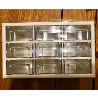 BN - Chest of 9 Mini Drawers for Accessories, Crafts