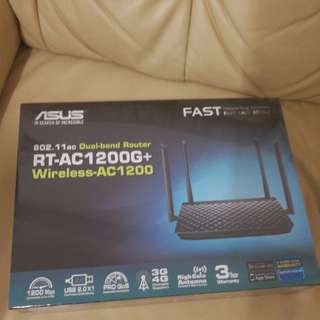 RT-AC1200G+ Asus Dual Band Router