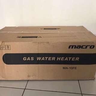 Macro Gas Water Heater MA-10FE Citygas