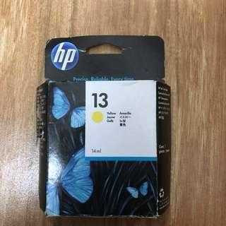 New HP printer ink (yellow) 影印機墨 (黃色)