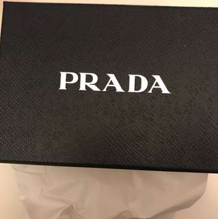 Prada mini sling bag in saffiano leather in orchidea