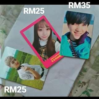 BTS Suga Lovelyz Jisoo Golden Child TAG