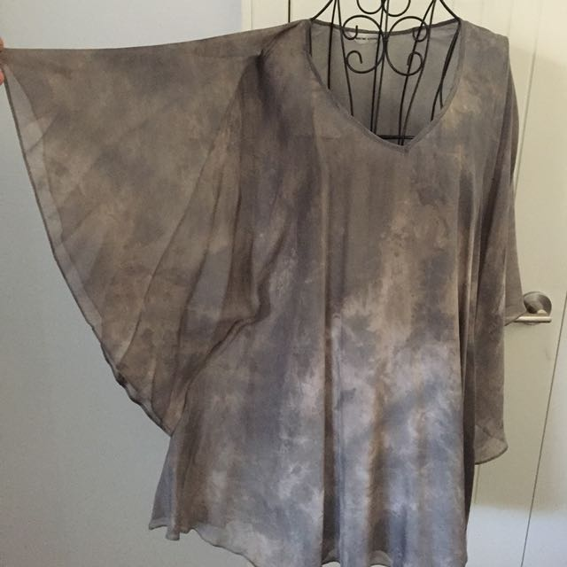 (2) Wayne Cooper silk dress