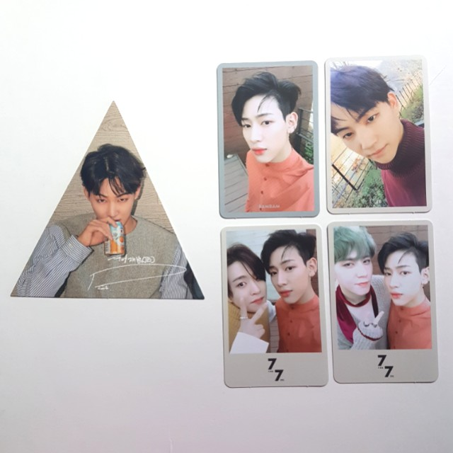 7 FOR 7 PRESENT EDITION PHOTOCARD