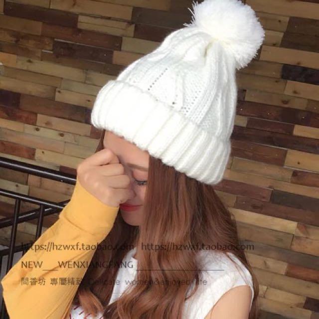 超可愛毛帽❤️