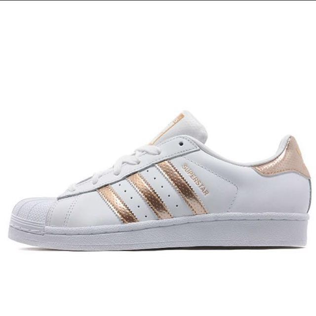 SALE Authentic Adidas Superstar Rose Gold b2858caad