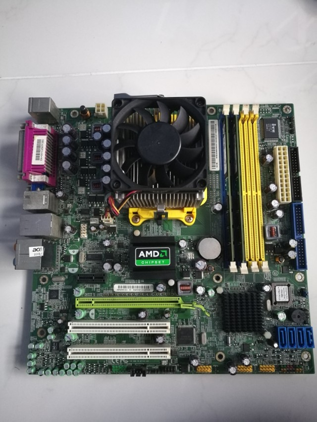 Acer Aspire M5100 MOTHERBOARD WITH AMD ATHLON 64 DUO CORE PROCESSOR