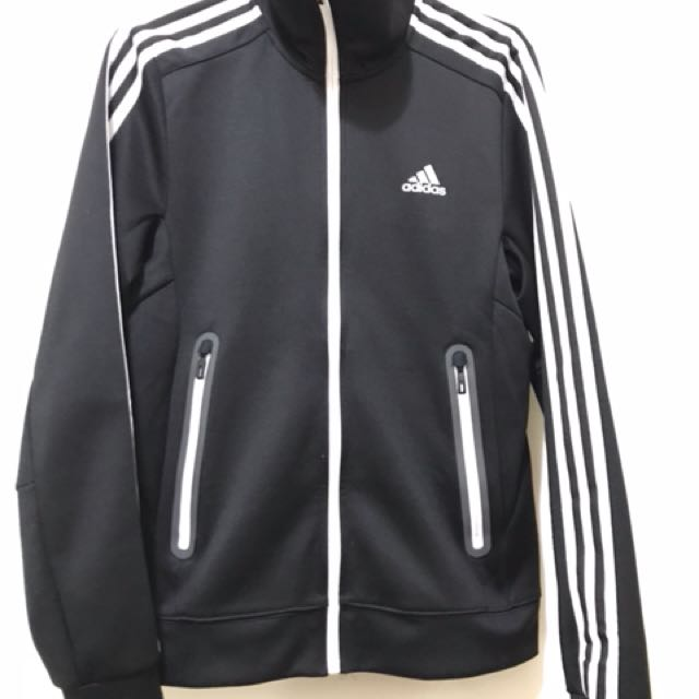 Adidas 三線外套 黑色