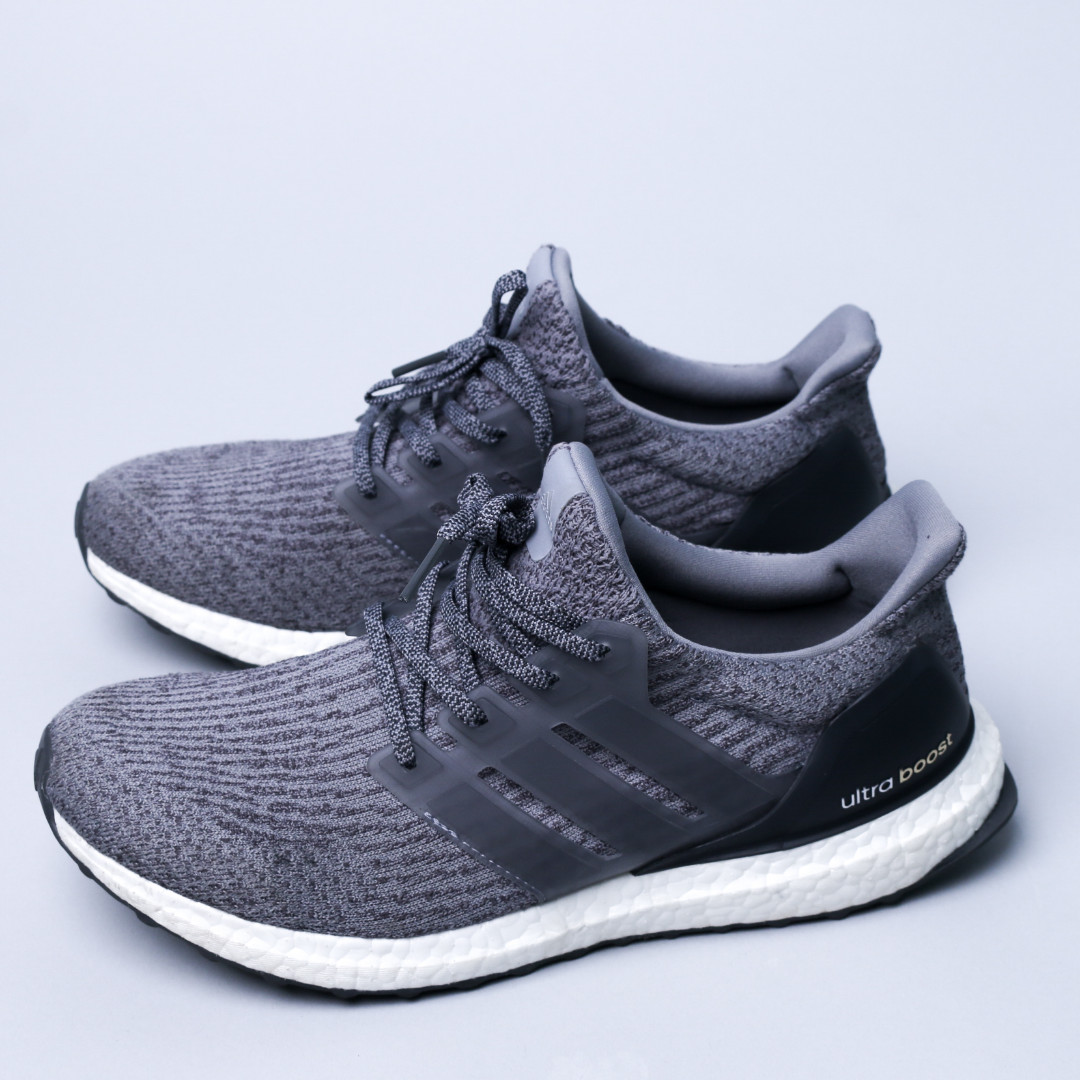 adidas Ultra Boost 3.0 Mystery Grey (SZ 42.5) Ori 100% New Without Tag
