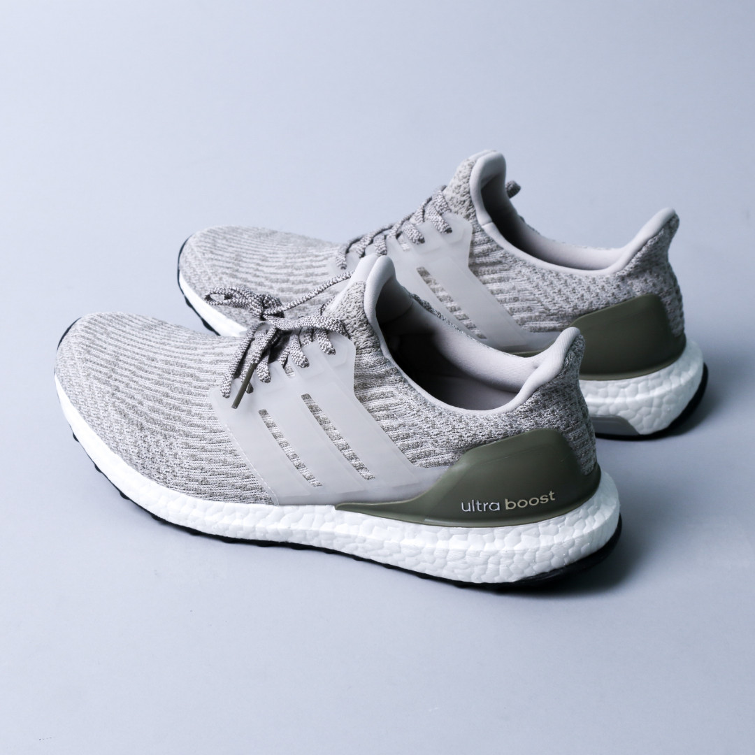 adidas Ultra Boost 3.0 Olive Green (SZ 42.5) Ori 100% New Without Tag