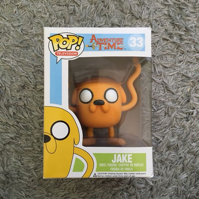 Adventure Time Pop Vinyl character Jake