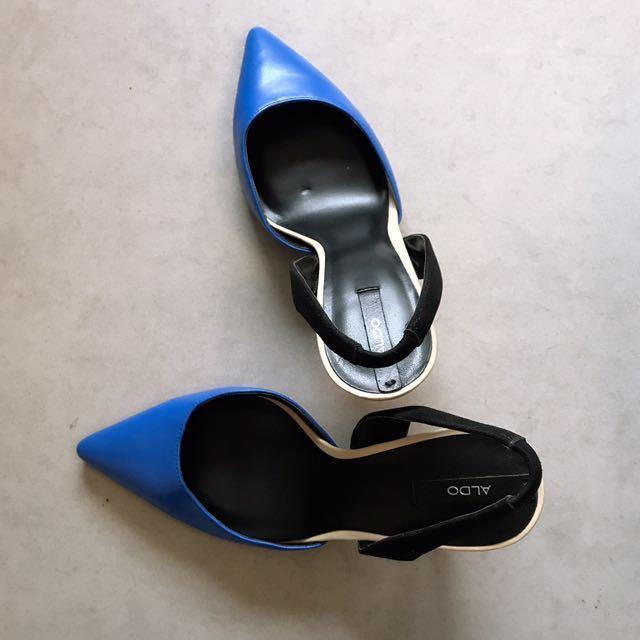Aldo Blue Black Shoes #YearEndSale