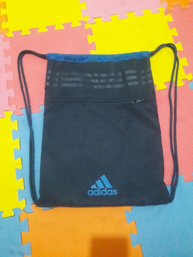 Authentic Adidas Drawstring Bag
