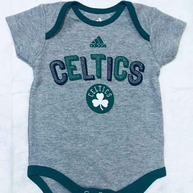 Authentic Adidas Onesies (Boston Celtics | Gray)