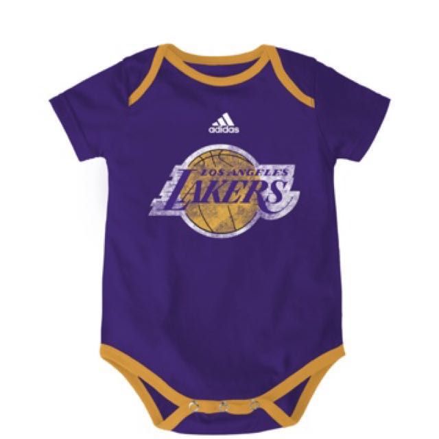 Authentic Adidas Onesies (LA Lakers | Full Logo)