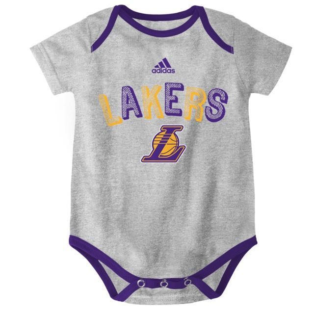 Authentic Adidas Onesies (LA Lakers | Gray)