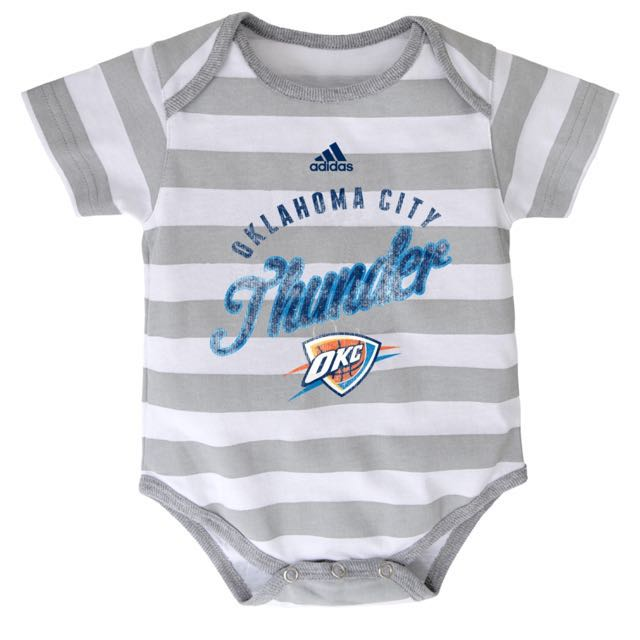 Authentic Adidas Onesies (OKC Thunder | Stripes)